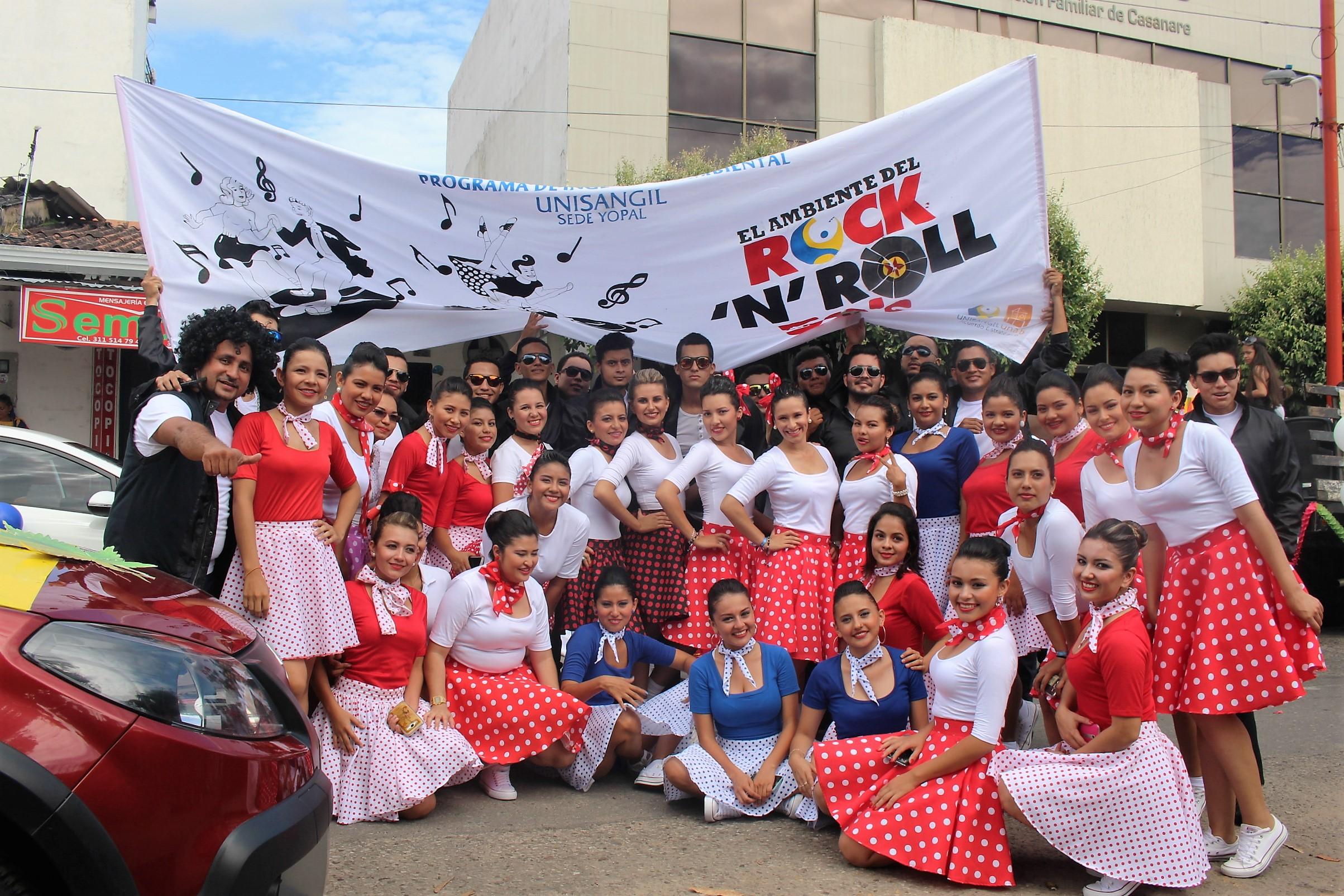 XVIII jornada cultural de Unisangil todo un éxito
