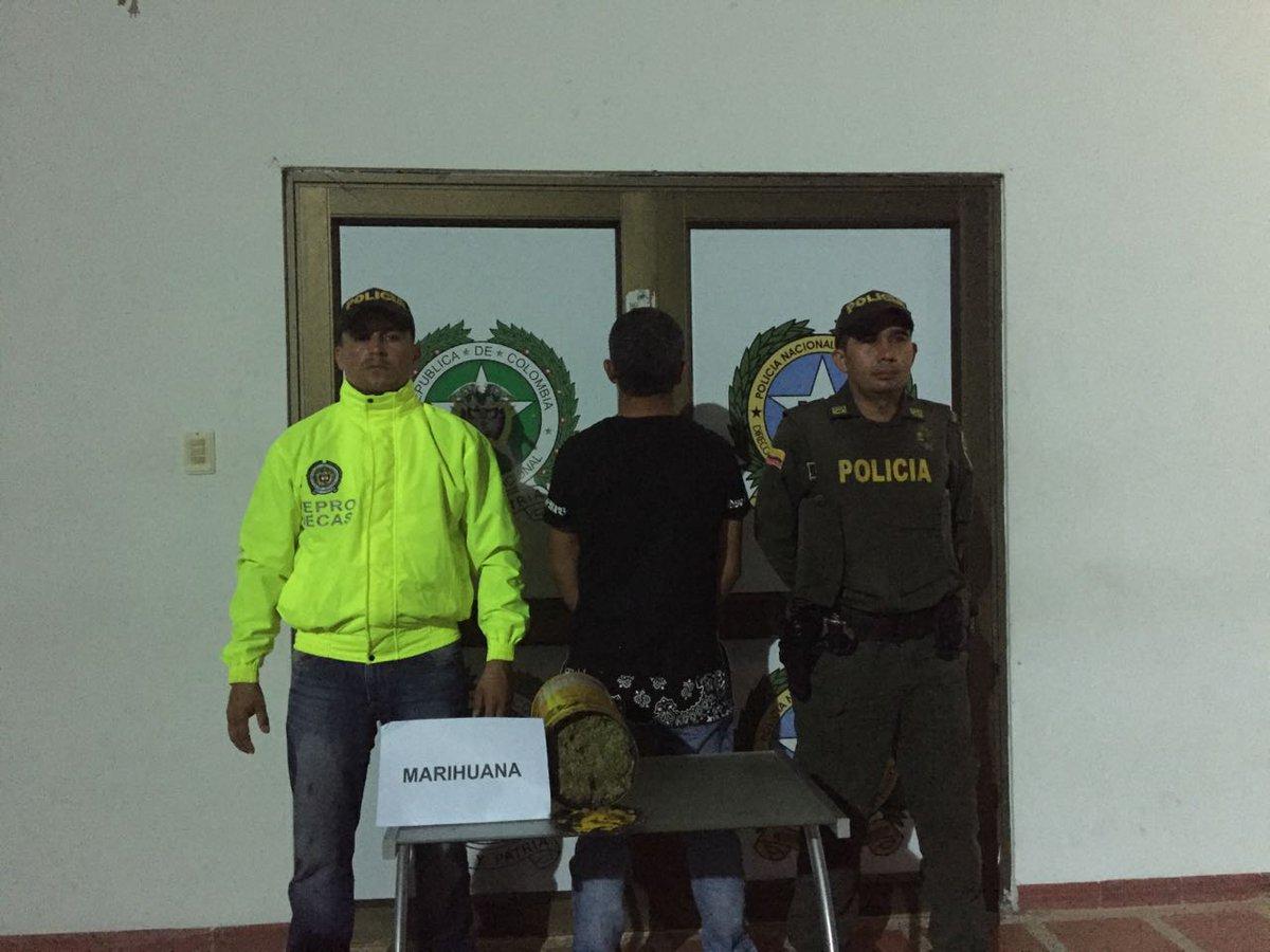 Policía da nuevo golpe al micro tráfico en Paz de Ariporo