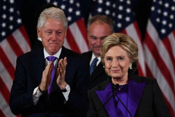 Reapareció Hillary Clinton tras su derrota: le deseó éxito a Trump