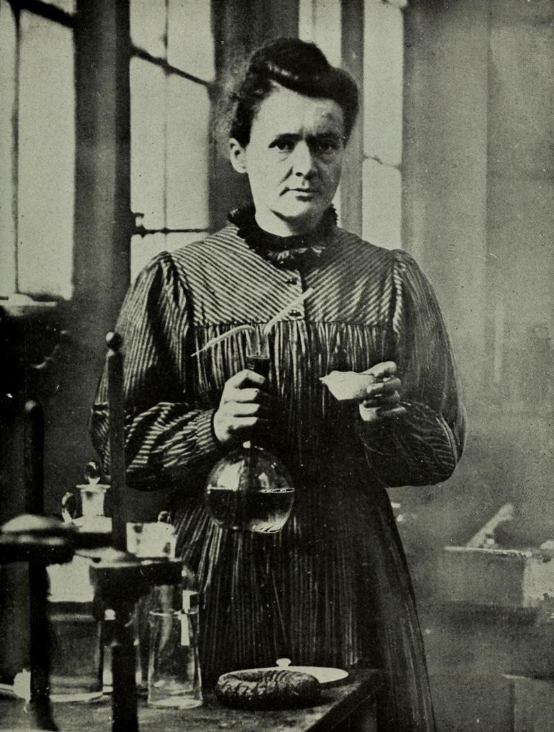 #Violetaenlahistoria: Un día como hoy nació Marie Curie