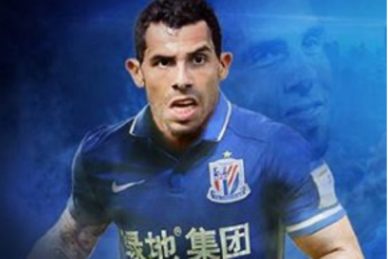 Carlos Tevez será compañero de Giovanni Moreno y Fredy Guarín en el fútbol chino