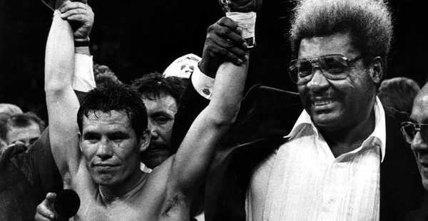 #Violetaenlahistoria: Un día como hoy el boxeador mexicano Julio César Chávez obtiene su primera corona