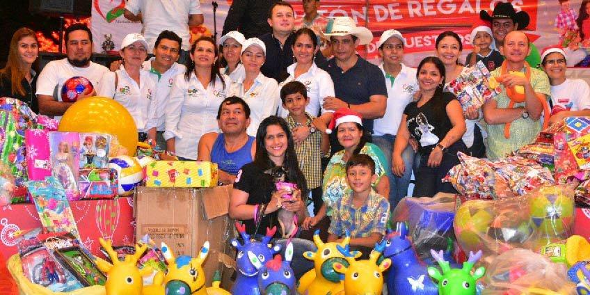 """Casanareños respondieron a la """"Maratón de regalos por la sonrisa de nuestros niños"""""""