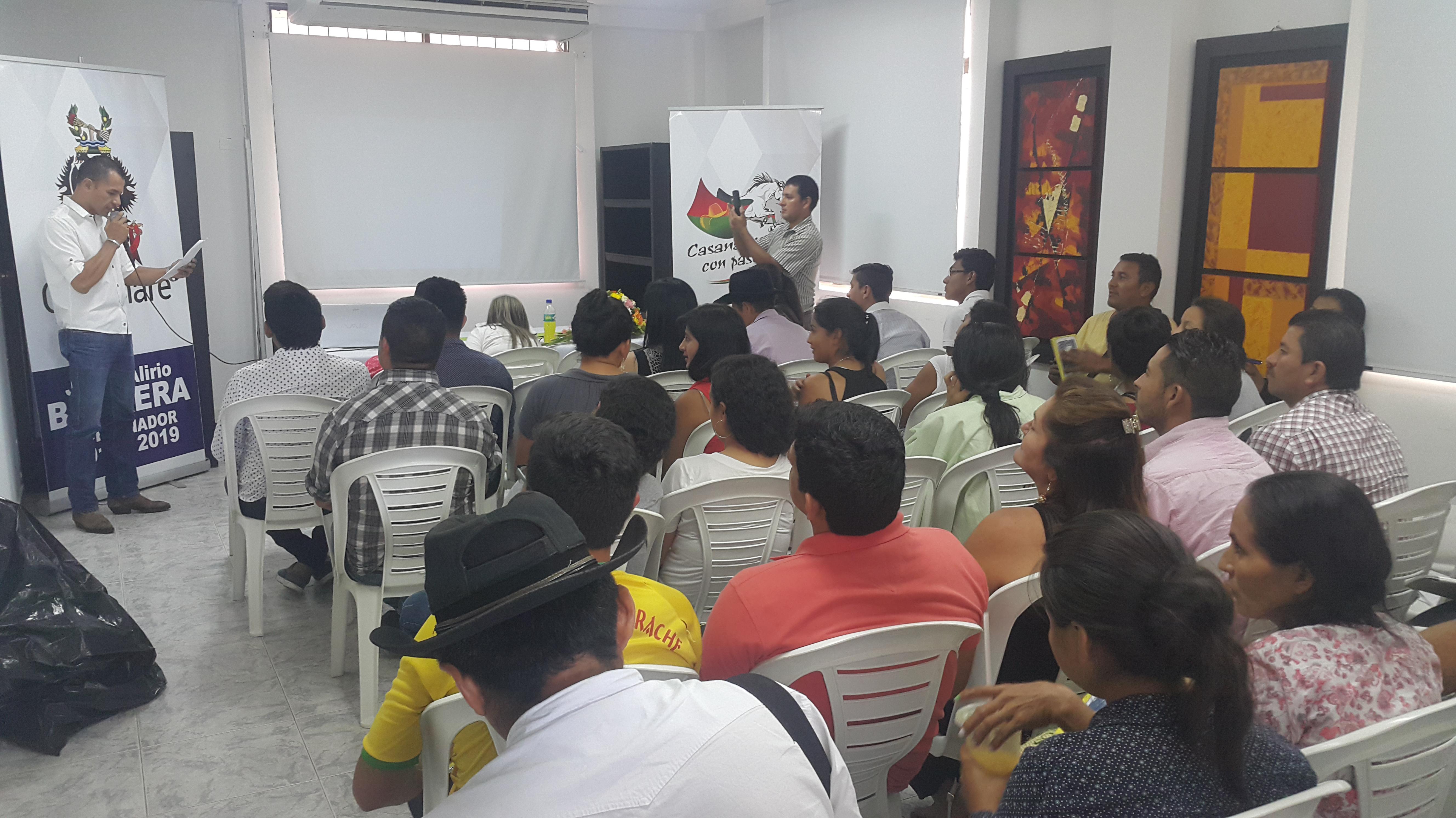 Se desarrolló en Paz de Ariporo primer encuentro de fortalecimiento de las TIC para organizaciones sociales