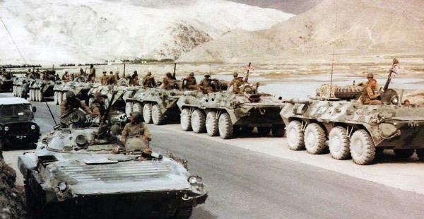 #Violetaenlahistoria: Un día como hoy Unión Soviética invadió Afganistán