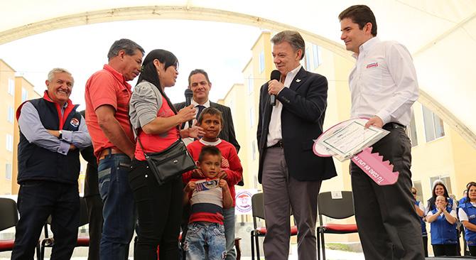 Presidente entrega este martes 100 nuevas viviendas en Chiquinquirá