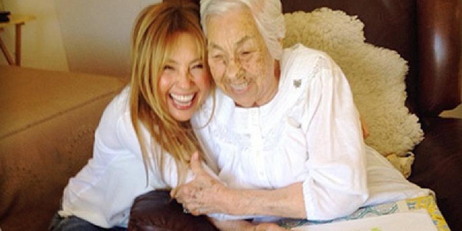 Thalía: su abuela revela que ya no quiere verla por ingrata