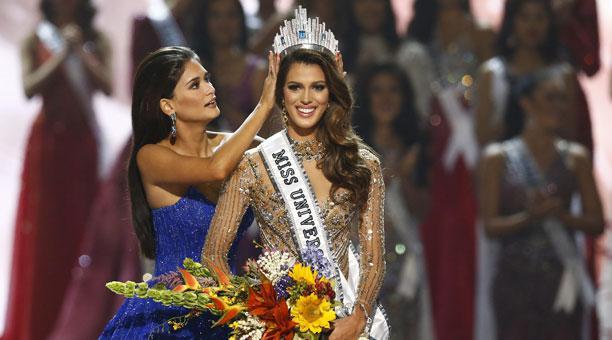 Iris Mittenaere de Francia, fue la ganadora de Miss Universo