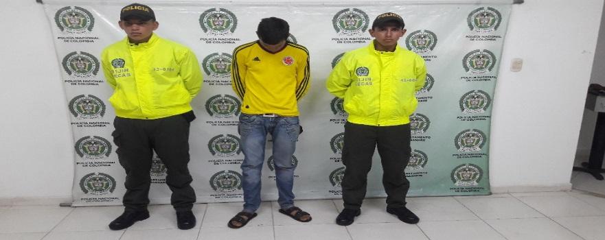 Mató a un hombre en San José del Bubuy y tres meses después lo capturaron