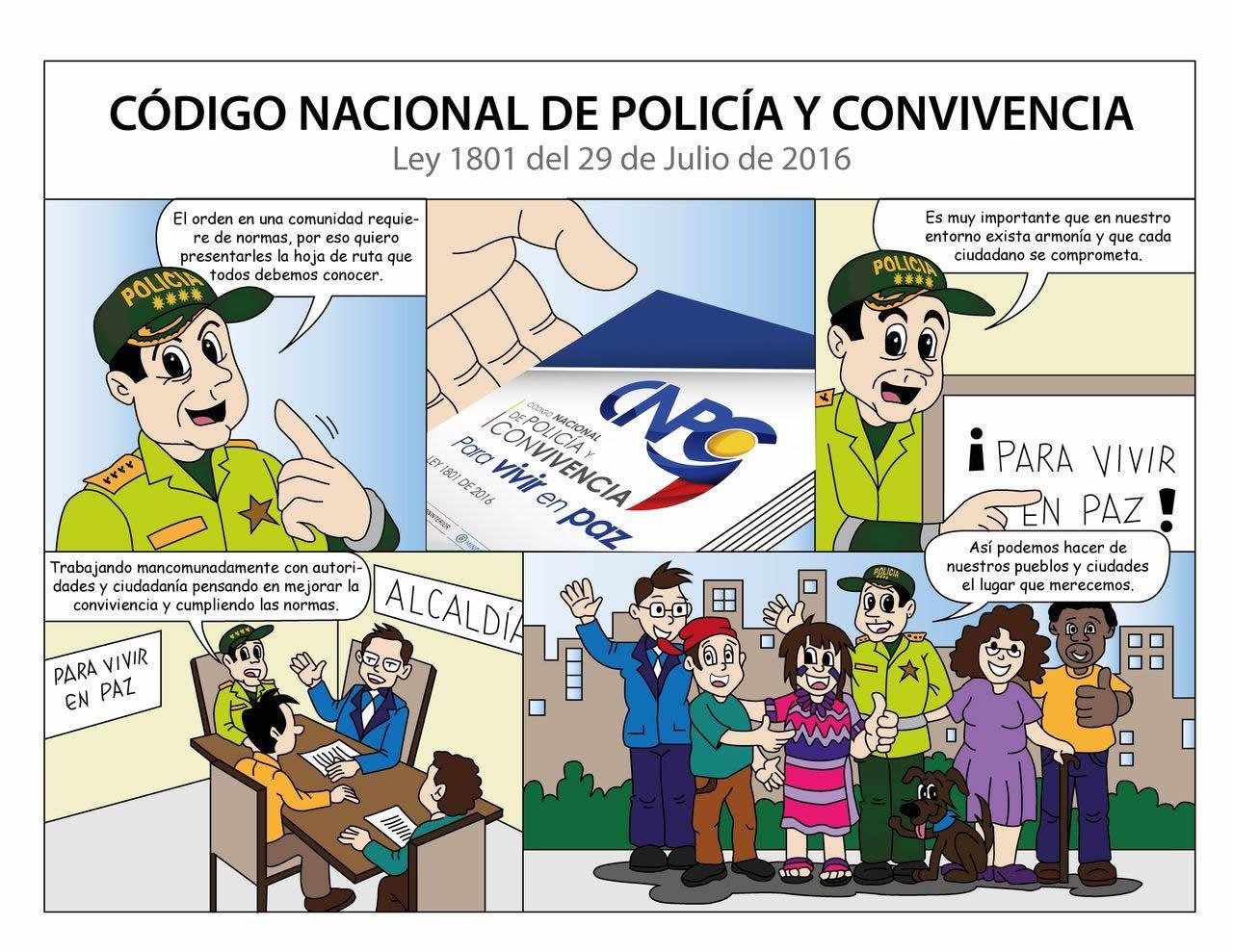 Desde hoy rige el nuevo Código Nacional de Policía