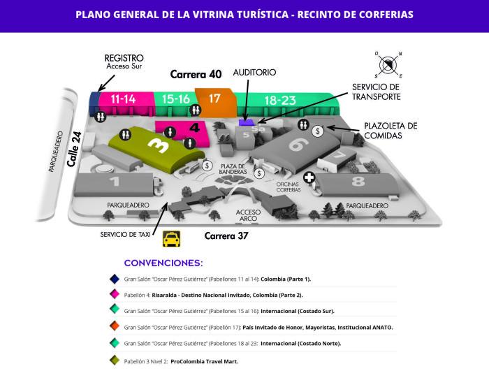Anato La Vitrina Turística de Colombia 2017