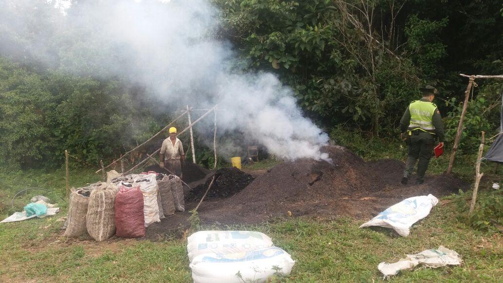 Acacias Meta: Sorprendido en flagrancia afectando el medio ambiente