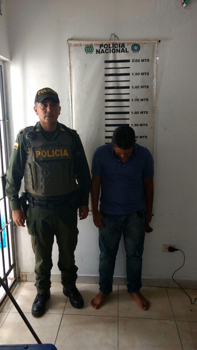 Policía Nacional captura joven e impide intento de hurto de motocicleta en Yopal