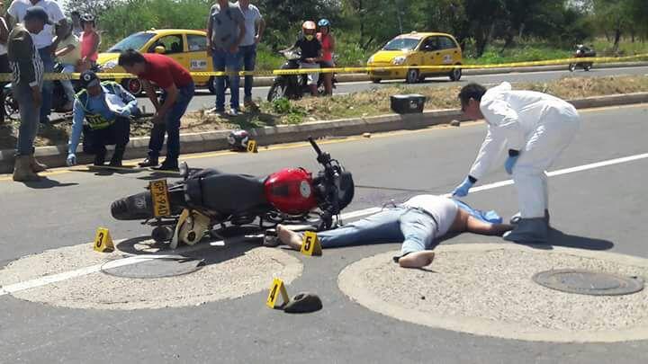 Un hombre muerto y una mujer herida deja accidente de tránsito en las últimas horas en Yopal