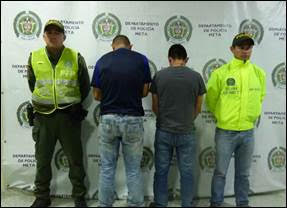 En Plan candado Policía del Meta captura dos presuntos asesinos