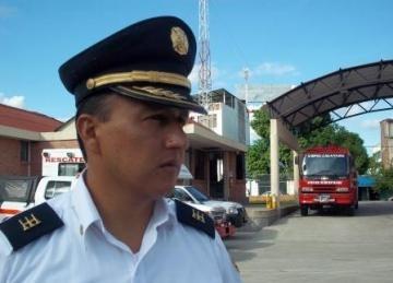 Mas de 400 hectáreas han consumido las llamas en los primeros dias del 2017: Harvey Ramirez, comandante de Bomberos.