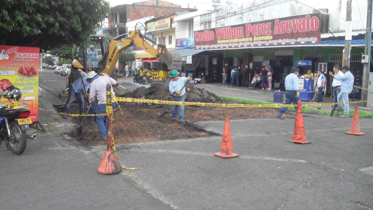 Cierre vial en la carrera 19 entre calles 16 y 18 por trabajos de pavimentación