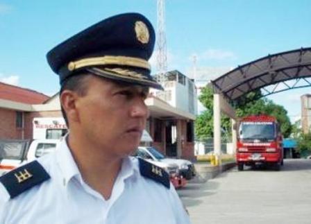 Nuestro invitado en la Visita de Violeta Stereo es el Cp Harbey Ramirez comandante de bomberos Yopal