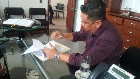 Ex jefe de planeación, Nestor Niño Cuenza, aclara que no renuncia por hechos de corrupcion