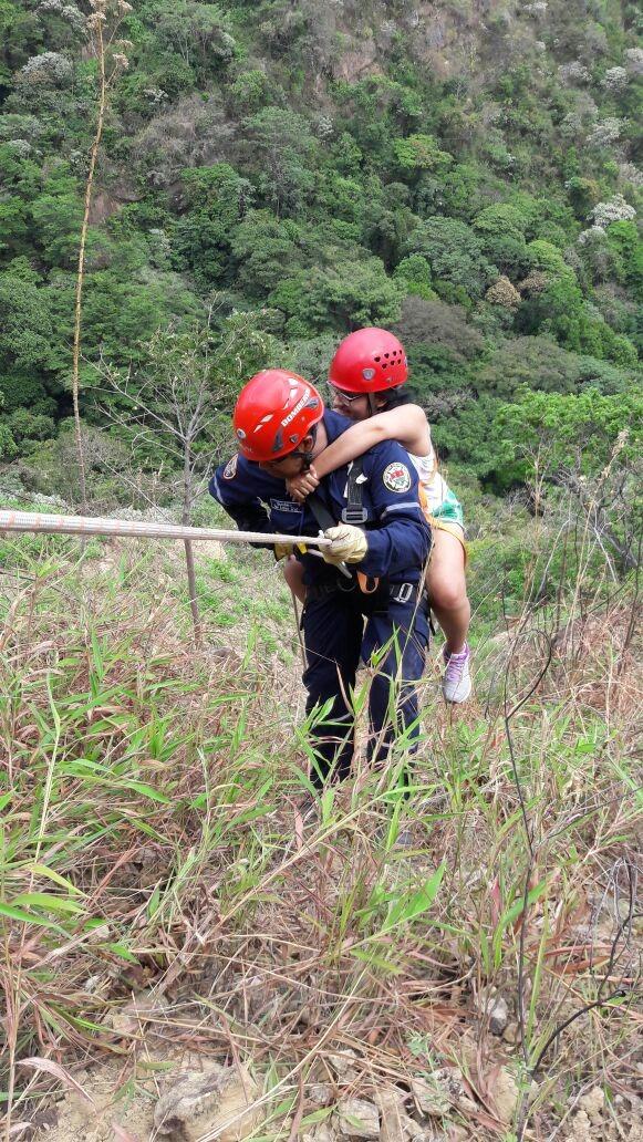 EnAudio Teniente Luis Martinez nos cuenta como fue el rescate de los caminantes extraviados en el cerro el venado