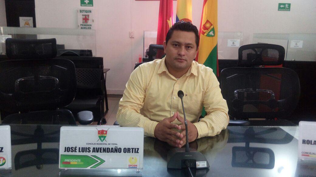 Esta tarde instalarán sesiones extraordinarias en el Concejo de Yopal