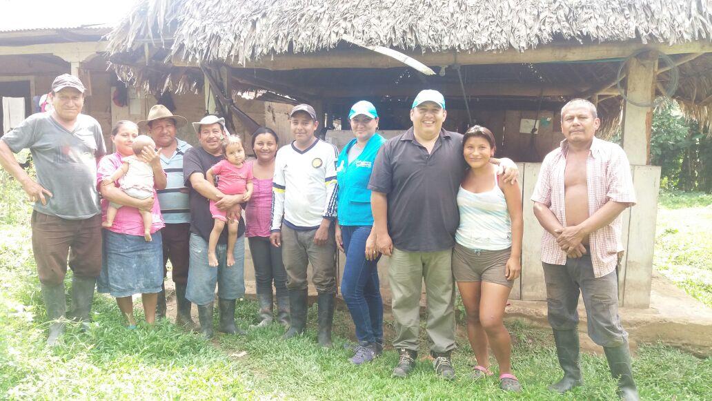 llegó a Resguardos Indígenas de los municipios de Paz de Ariporo, Hato Corozal, Sácama y Támara en el Departamento de Casanare