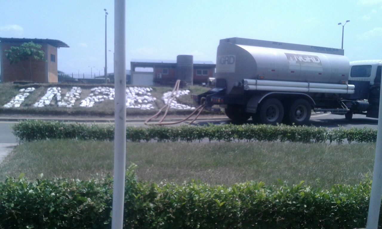 La Gobernación de Casanare suministra agua a cárcel de Yopal ante posible emergencia sanitaria