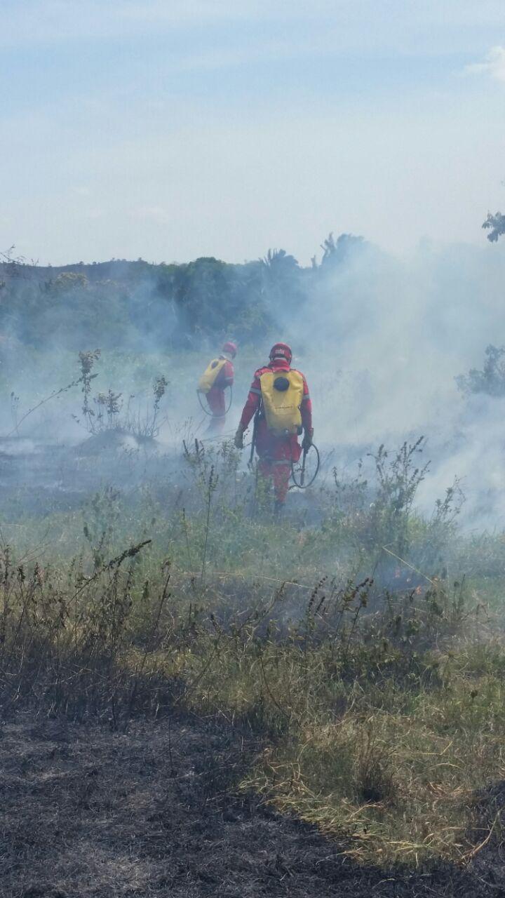 Bomberos atendieron Incendio en Paz de Ariporo