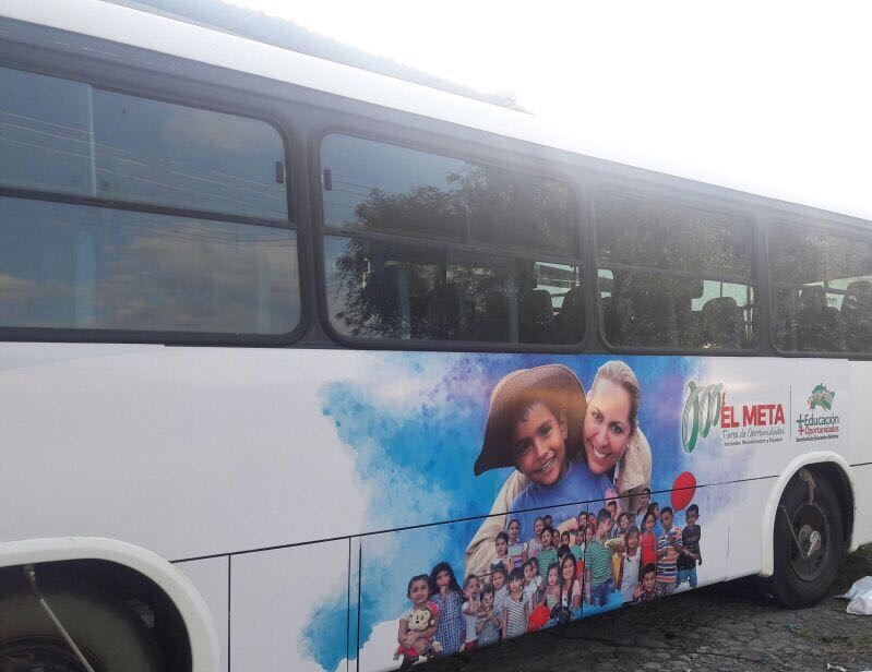 Hoy empieza a rodar 'El bus de las oportunidades' por el Meta