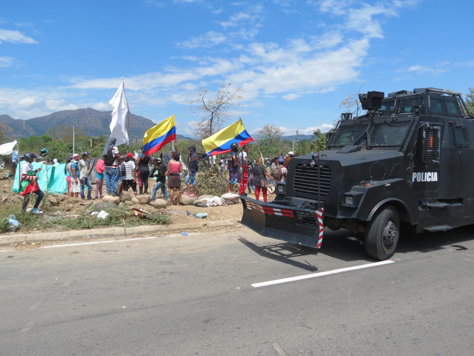 Por segunda vez desalojada invasión en barrio Cataluña de Yopal