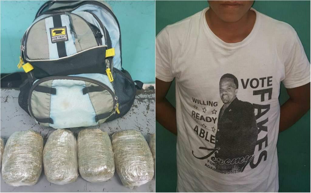 Menor de edad capturado con 100 gramos de marihuana Villavicencio