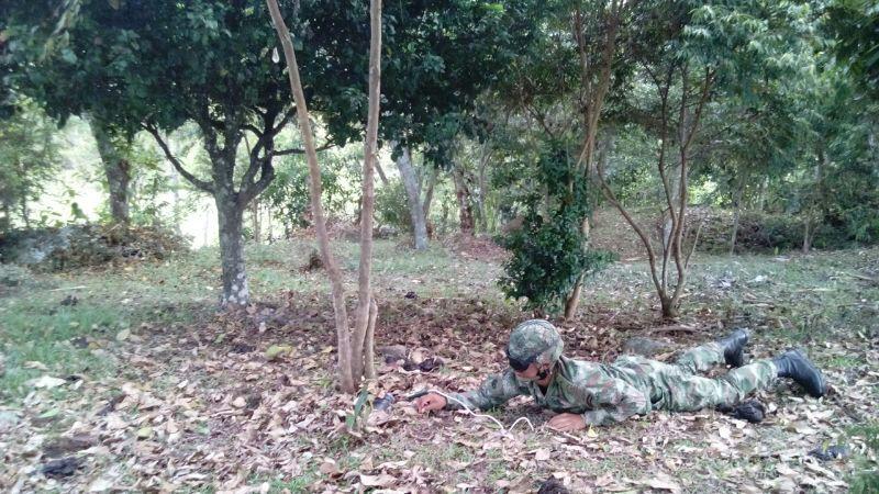Ejército destruye de manera controlada artefactos explosivos en Mapiripàn Meta