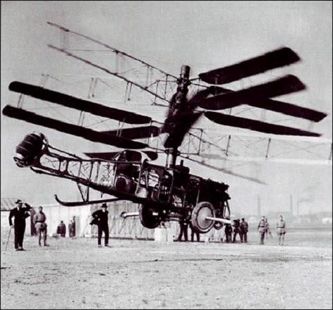 #Violetaenlahistoria: Un día como hoy un argentino patentó el primer helicóptero viable de la historia