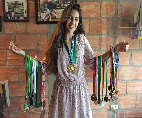 La Visita – Deportista Ginessa Archila Bernal 26 de Marzo del2017