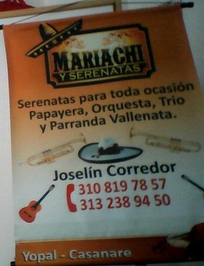 La Cantaleta. Joselin Corredor invidente emprendedor promociona su Mariachi Nuevo Tecalitlán