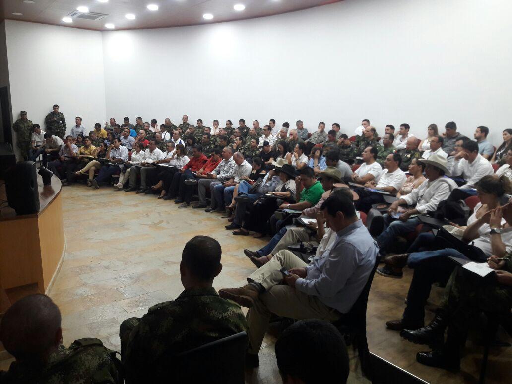 Próximos Generales de la República visitaron Casanare