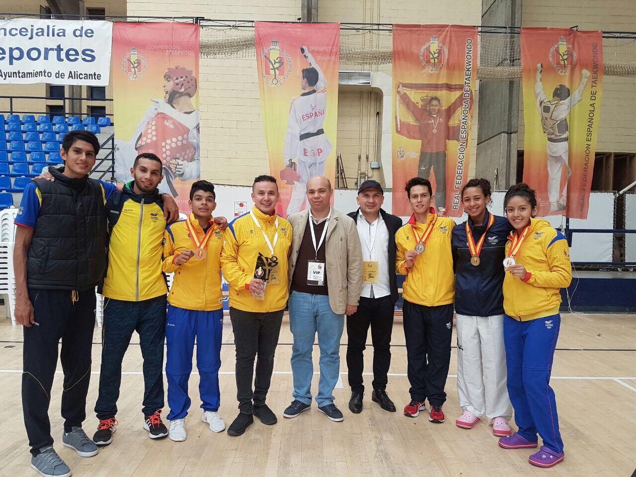 Colombia obtuvo 4 medallas en Open de España