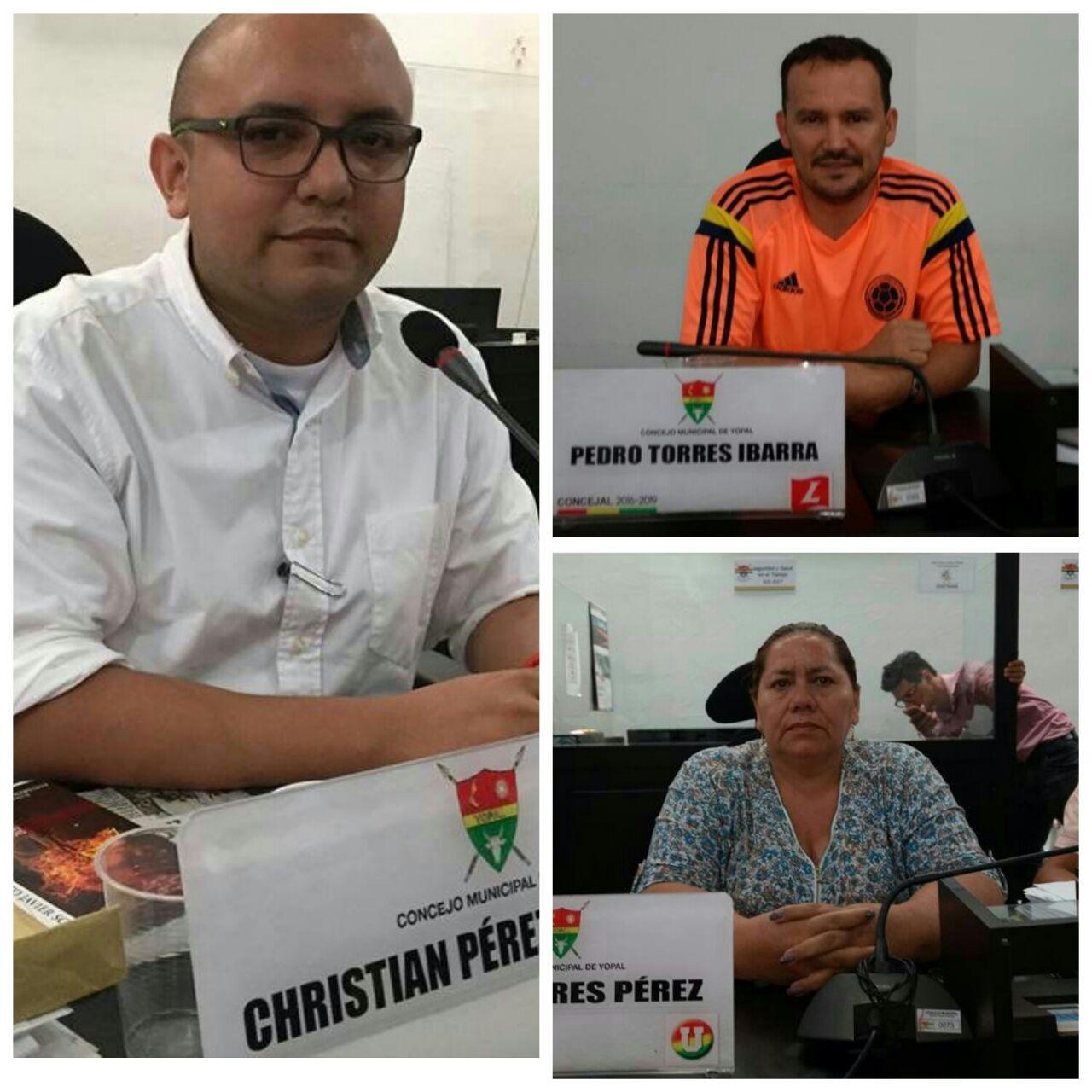 Se impuso mayoría de concejales afines al gobierno en nueva mesa directiva del concejo de Yopal