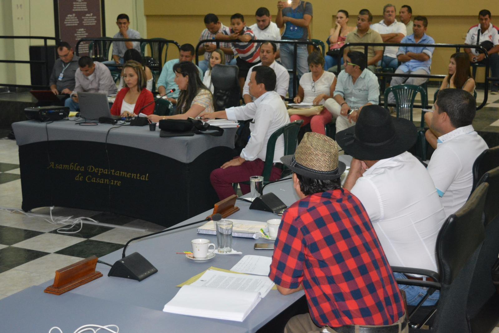 Diputados criticaron manejo de seguridad desde la Secretaría de Gobierno Departamental