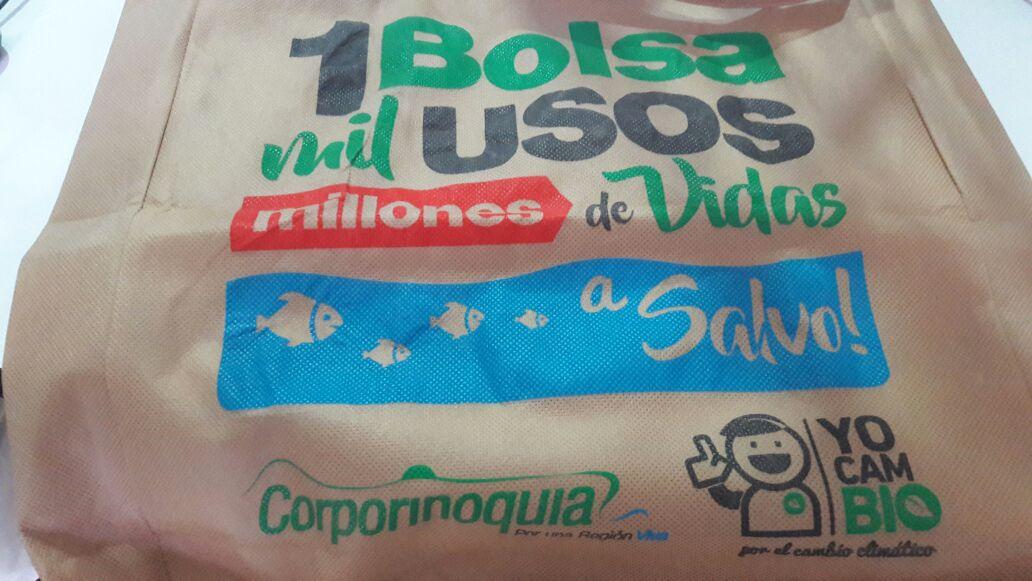 #EnAudio Corporinoquia promueve el uso de bolsas reutilizables para las compras en supermercados.
