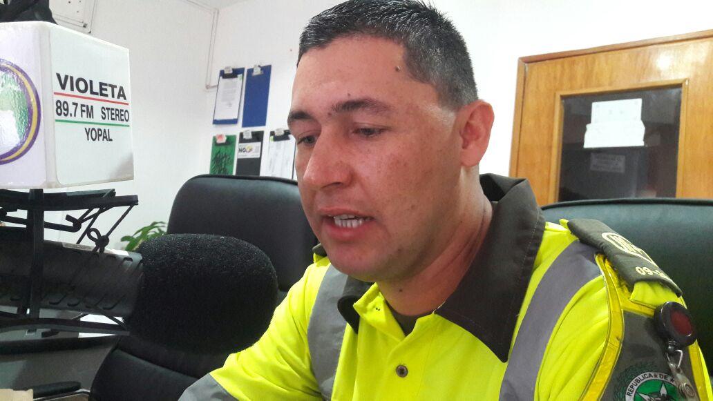 #EnAudio Intendente Hamilton Calvera, de Policia de Transito, explica alcances de la labor de la policía en controles de tránsito.