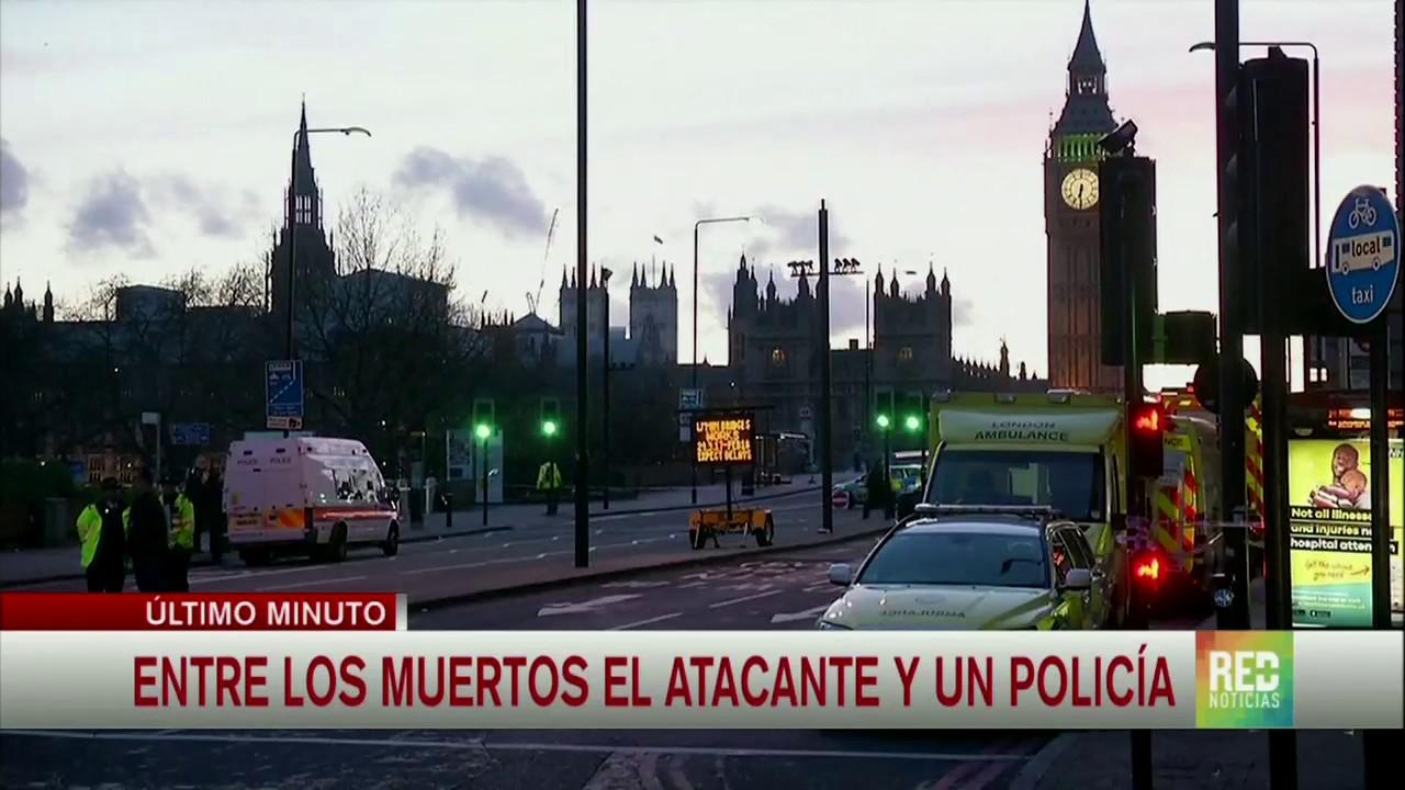 Ataque terrorista en Londres: 4 muertos y 20 heridos