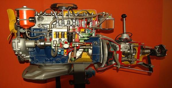 #Violetaenlahistoria: Un día como hoy fue presentado en París el primer motor Diésel