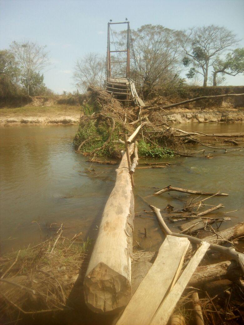 #EnAudio Un árbol es el puente en el río Charte, vereda la Argelia