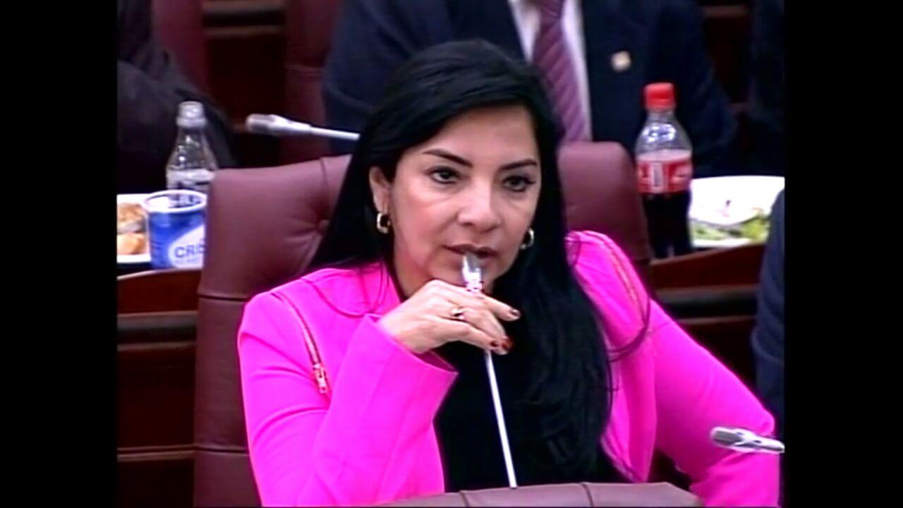 #EnAudio Senadora Nohora Tovar habla del proyecto de ley para incrementar penalización del abigeato y carneo.