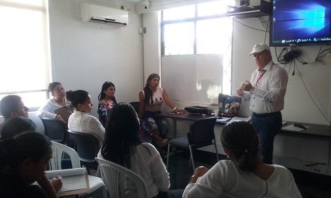 En Villanueva, capacitan a las víctimas del conflicto