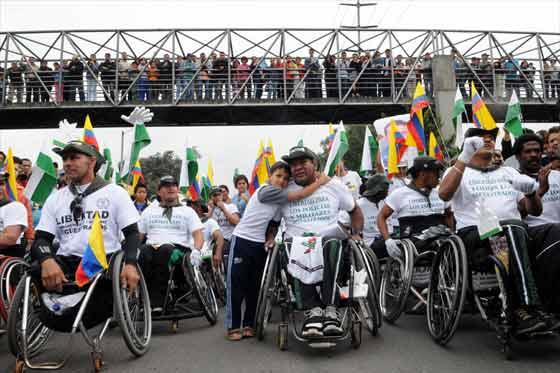 #EnAudio Qué se logró ayer en Bogotá con la marcha de personas en discapacidad?