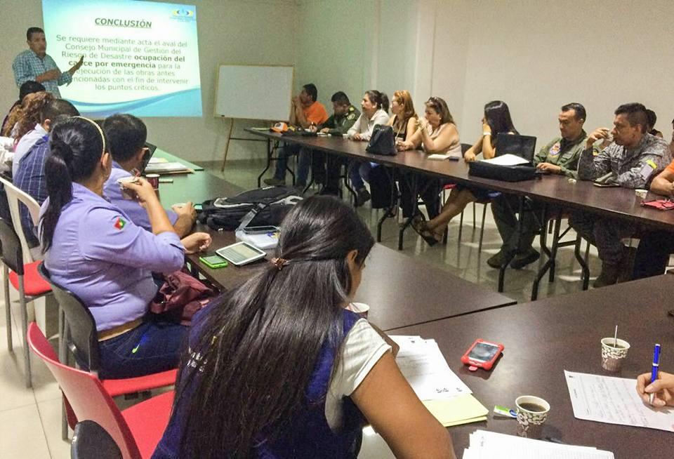 Gestión del Riesgo Municipal se prepara para enfrentar el río Cravo Sur