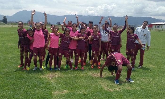 Goleada del Tolima a la selección infantil femenina de Casanare