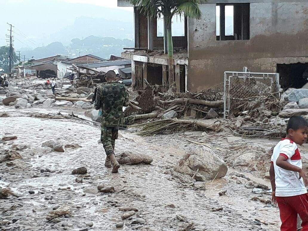 Tragedia en Mocoa deja más de 300 víctimas mortales.